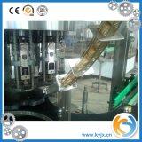 Máquina de rellenar del jugo/botella de cristal con el casquillo de aluminio