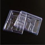PVC Caixa de plástico Transparente Metal chave de fenda Embalagem de plástico