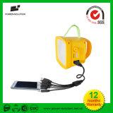 Luz de rádio FM de LED de melhor preço para iluminação solar e carregamento do telefone