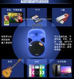 12 pulgadas Multi-color Altavoz móvil con colorido F28D Luz
