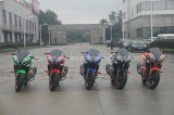 350cc大きい力の涼しく黒い競争のバイクのスポーツのモーターバイク