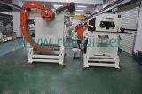 Автомат питания листа катушки с раскручивателем для линии давления в выправляя материале металла