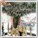 結婚式の装飾のガラス繊維の人工花の木