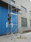 O Ce do GV passou a torre do andaime para a construção