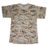 T-shirt en coton combattant à l'armée