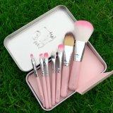 Pot 7 van de Hulpmiddelen van de make-up Hello de PCs Geplaatste Kosmetische Borstels van de Make-up