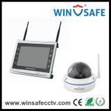 IP van de Uitrusting van kabeltelevisie 4CH NVR van de Videorecorder van de Veiligheid van het huis Camera