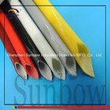 UL Sunbow 2.5kvのシリコーンのガラス繊維のスリーブを付けること
