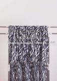 100% Polyester-korallenrote Vlies-Zudecke - Zebra-Streifen