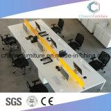 Weiße Farben-Melamin-Möbel-Arbeitsbüro-Computer-Schreibtisch-Arbeitsplatz