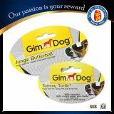 2016 Hot Sale Pet Dog Toy Papier Carte Tags pour chiens
