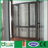 Handelsaluminiumflügelfenster-Tür für australischen Markt