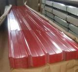 A chapa de aço Yx35-547.5-990/corrugou a folha de aço da telhadura