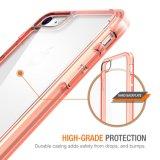 iPhone 7을%s 우수한 충격 흡수 TPU 풍부한 찰상 저항하는 명확한 방어적인 단단한 덮개