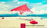 Шатер тени пляжа шатра Neso шатра пляжа навеса Otentik Lycra водоустойчивый портативный напольный с мешками песка