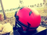 Varios cascos deportivos personalizados, original diseño de la cara abierta transpirable