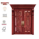 Haupteingangs-hölzerner Tür-Handwerker-Eintrag-hölzerne Tür (GSP1-007)