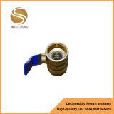 Yuhuan forjou a válvula de esfera de bronze com acoplamento Dn32