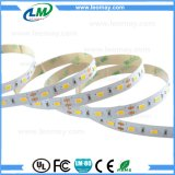 Tira flexible LED del color rojo SMD5630 DC12V 18W de las tiras del LED