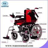 Кресло-коляска моторов пневматических автошин 2 электрическая