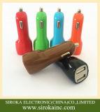 Caricatore universale promozionale dell'automobile del cellulare del USB del doppio