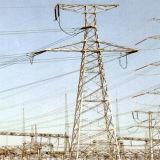 torre del acero de la transmisión de energía eléctrica 500kv