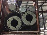 Potencia de acero galvanizada poste de la transmisión de la INMERSIÓN caliente los 20m