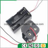 4AA de nuevo a sostenedor de batería posterior con los terminales de componente de alambre rojos/negros