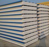 """Panneau """"sandwich"""" en acier blanc de mousse pour le mur pour le matériau de construction"""