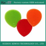 Soft Silicone Face Cleaning Brush / Coração Shape Silicone Beauty Brush