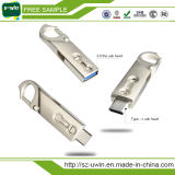 Tipo-c Tipo-c instantâneo 3.1 PC dobro duplo Pendrive da vara do USB da movimentação 32GB do USB 3.0 do plugue