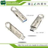 유형 C USB 3.0 저속한 드라이브 32GB USB 지팡이 유형 C 3.1 이중 두 배 플러그 PC Pendrive