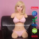 Boneca do torso do silicone dos produtos do sexo do Masturbator do sexo oral para homens