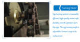 Máquina usada aprovada Ce Líbia da incubadora do equipamento das aves domésticas das codorniz de Digitas