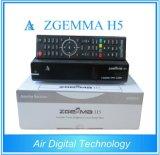 世界的な使用できるZgemma H5 Multistream衛星またはケーブルの受信機の二重コアLinux OS MPEG4 H. 265 DVB-S2+T2/Cの対のチューナー