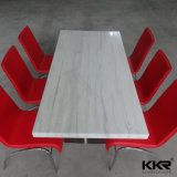 الرخام الاصطناعي السطحية الصلبة الجدول كرسي طاولة القهوة الطعام