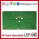 1.6mm 2 Schichten OSP Fr4 Wechselsprechanlage-Einheit-Leiterplatte Schaltkarte-