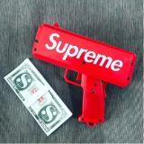 Dólar/arma euro del cañón del efectivo del juguete de la celebración del arma de los billetes