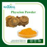 工場供給のプラントエキス10%-98%の大黄のエキスの粉Physcion