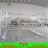 Costumbre Easy Set-up Exposición modular portátil Stand para la feria Feria de la cabina ¡con luces
