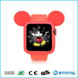 Karikatur-Mickey Mouse-Ohr-weiches Silikon-schützender Kasten für Apple-Uhr 1/2