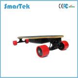 La planche à roulettes en bois électrique Gyropode de 4 roues la plus neuve de Smartek avec l'Électrique-Mini-Long panneau à télécommande S2a