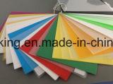 Tarjeta sólida transparente o colorida de los PP, Correx, Corflute, abastecedor de Coroplast