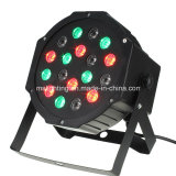 18*1W/3W RGB LED 플라스틱은 동위 빛/LED 단계 빛을 땋는다