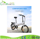 Bici della città della bici elettrica/veicolo elettrico ad alta velocità piegante/bicicletta lunga vita eccellente/veicolo elettrici batteria di litio