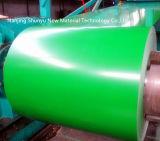Bobinas galvanizadas cubiertas cinc del acero del color