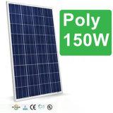Panel solar de 150W Poly Una célula solar del grado