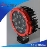 3W*17PCS luces de conducción redondas de la luz 51W del trabajo del CREE LED