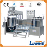 Crema cosmética del cuerpo del vacío del mezclador homogeneizador máquina mezcladora
