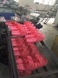 Máquina para hacer zapatillas acabados